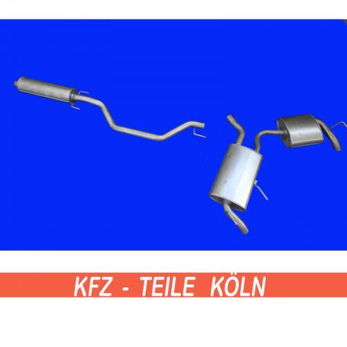 OPEL SIGNUM 2.0 2.2 3.2 Endtopf Auspuff Schalldämpfer